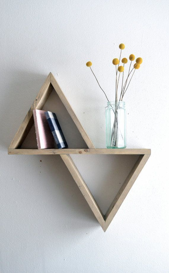 Bookalicious - Triangular bookshelf ...